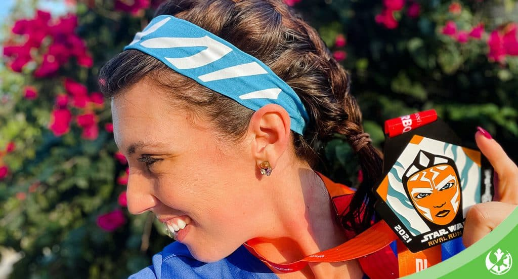 Ahsoka-inspired running headband from shiopDisney