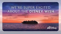 We're Super Excited About the Disney Wish