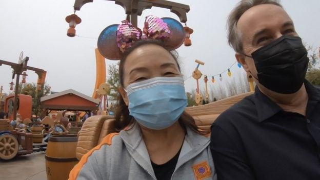 Su Min at Shanghai Disney Resort