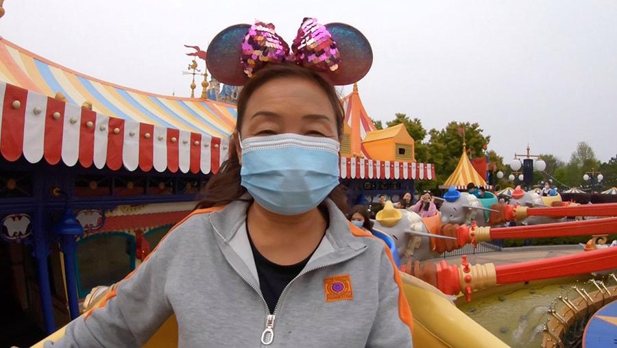 Su Min on Woody's Roundup, Shanghai Disney Resort