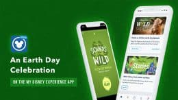 Learn and Play to Celebrate Earth Day in the My Disney Experience and Play Disney Parks Apps!