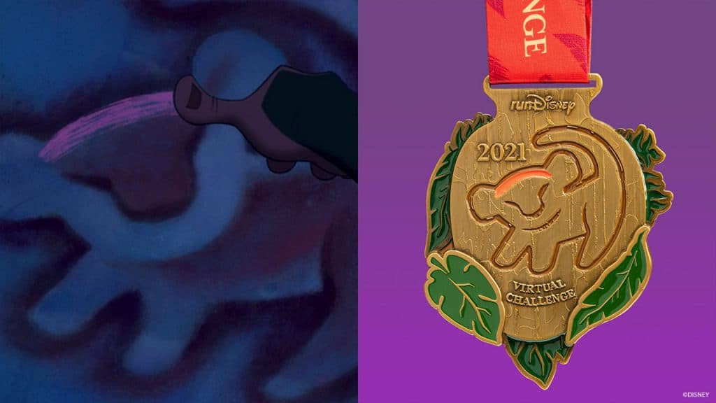 runDisney Virtual Series Challenge finished medal