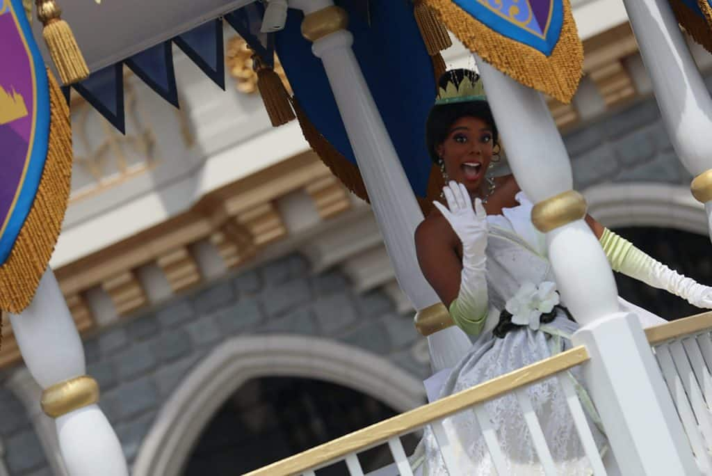 'The Royal Princess Processional' at Magic Kingdom Park