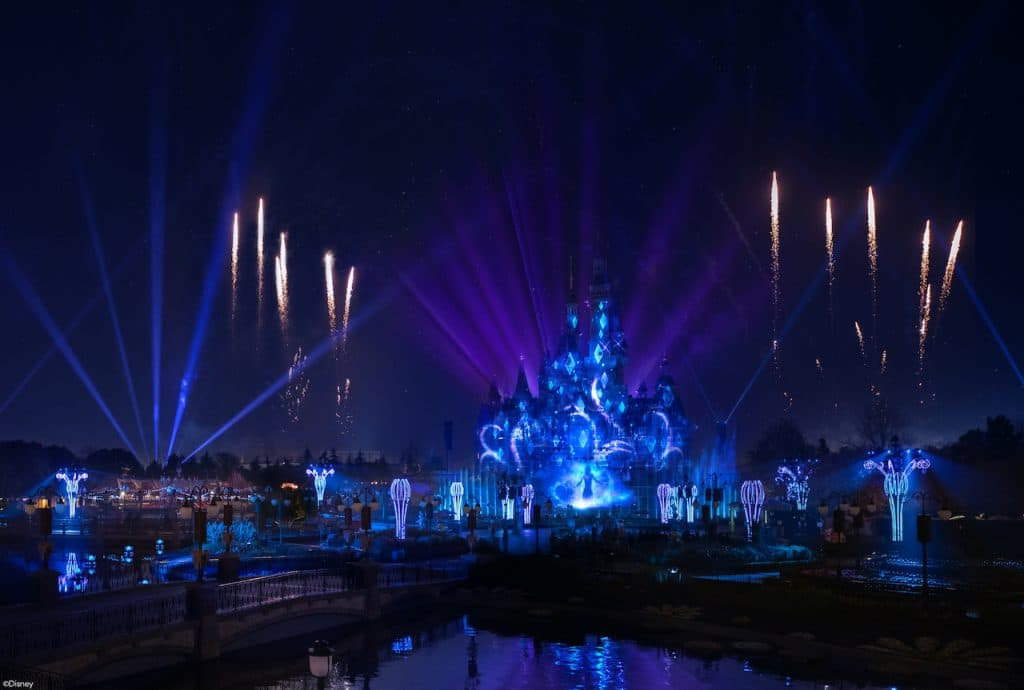 """ILLUMINATE! A Nighttime Celebration"" at Shanghai Disney Resort"