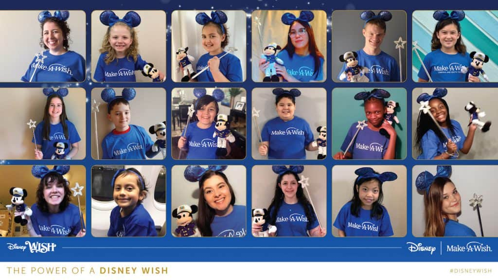 Make-A-Wish alumni from the United States and Canada virtually took part in the one-of-a-kind production
