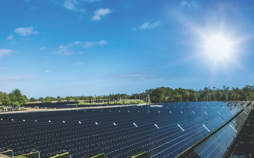 The new solar facility in Central Florida is helping to harness the power of the sun to help operate Walt Disney World Resort, all while reducing greenhouse gas emissions by tens of thousands of tons per year