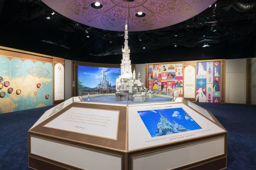 Building a Dream: The Magic Behind a Disney Castle