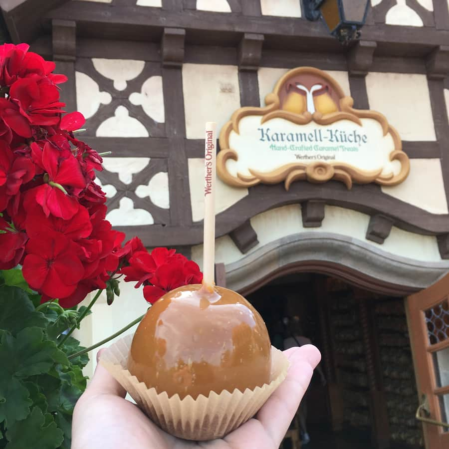 Carmel Apple from Karamell-Küche at EPCOT