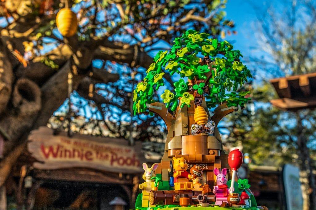 New LEGO Ideas set featuring Winnie the Pooh