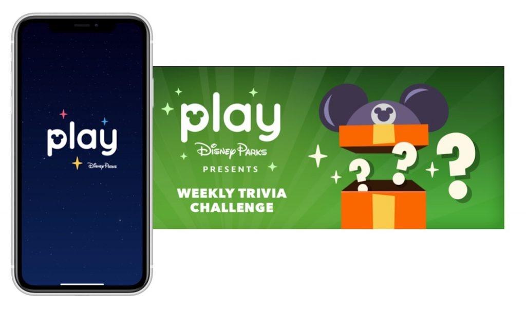 Screenshot of the Play Disney Parks app