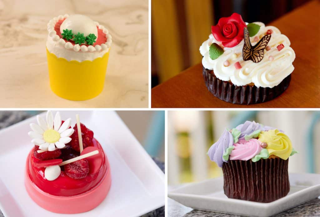 Collage of Mother's Day sweets from Walt Disney World Resort