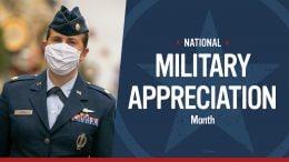 Military Appreciation Month graphic