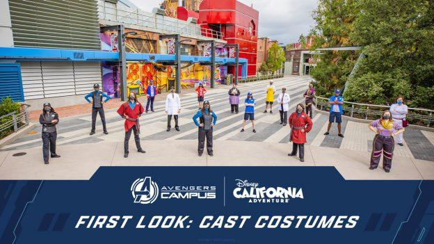 Avengers Campus: Disney California Adventure - First Look: Cast Costumes