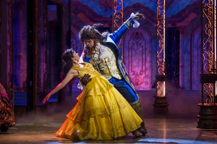 """""""Beauty and the Beast"""" aboard the Disney Dream"""