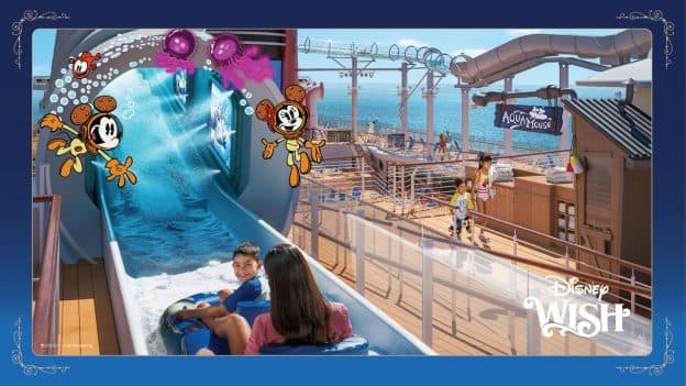 AquaMouse - Disney Wish