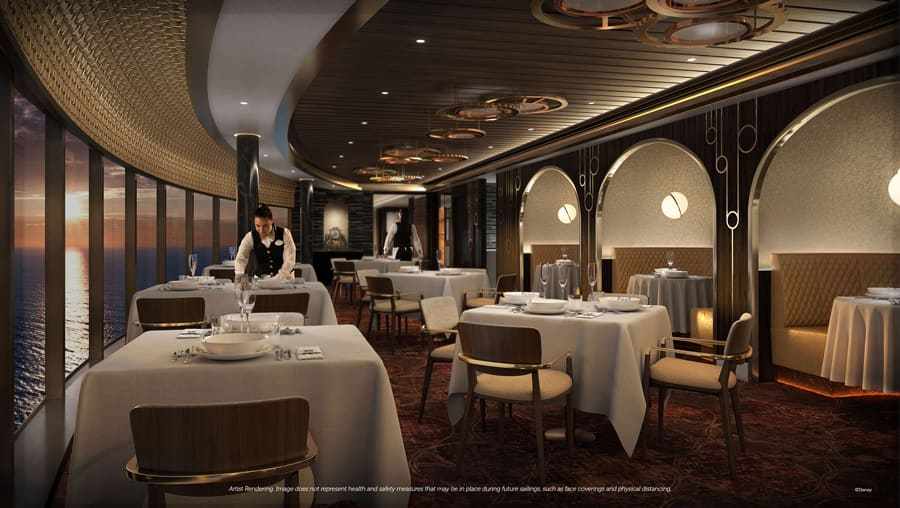 Disney Wish - Palo Steakhouse