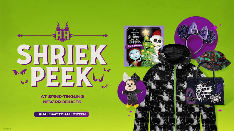 Shriek Peek at Spine-Tingling New Products #HalfwaytoHalloween