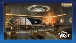 Hyperspace Lounge coming to the Disney Wish