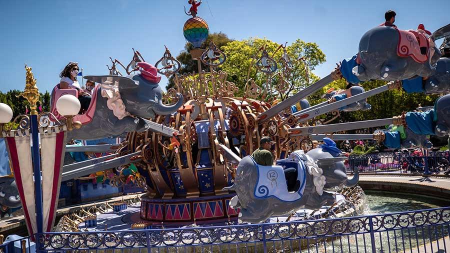 Dumbo the Flying Elephant attraction, Disneyland Resort