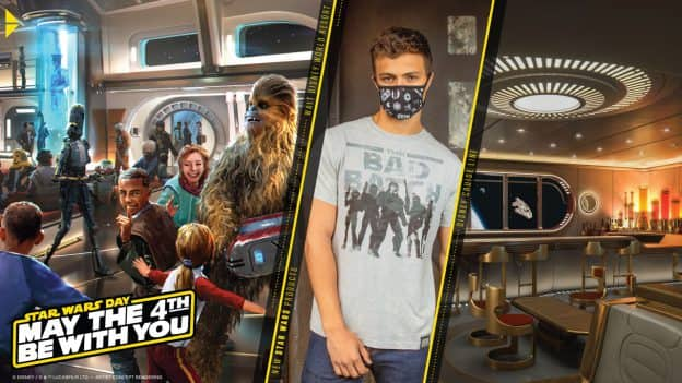 Star Wars Day - May the 4th Be With You - Walt Disney World Resort - New Star Wars Products - Disney Cruise Line