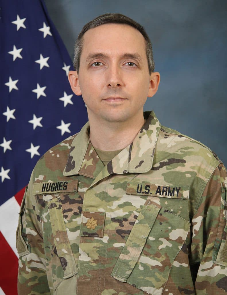 Army Reserve Major and Disney Consumer Products, Games and Publishing Cast Member John Hughes