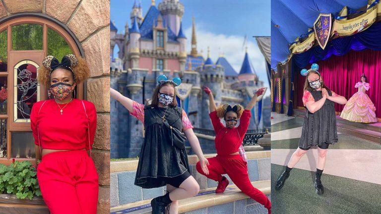 Julia Lester e Dara Reneé encontram alguém especial na Disneyland