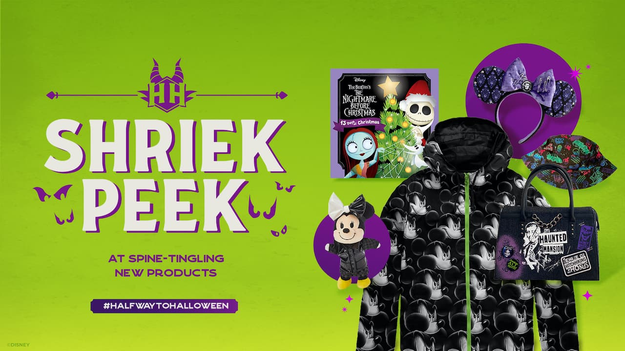 Shriek Peek: Celebrating #HalfwaytoHalloween with A Spooky First Look at Some Spine-Tingling New Products
