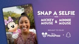 Snap a Selfie with Mickey Mouse & Minnie Mouse - Brought to you by Disney PhotoPass and Snapchat