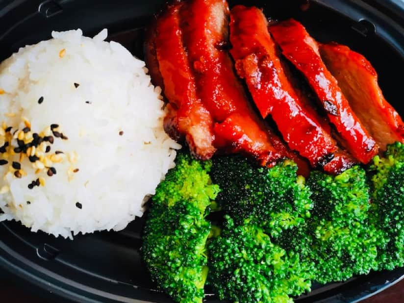 Char Siu with Rice Photo from Lotus Blossom Café at the China pavilion in EPCOT