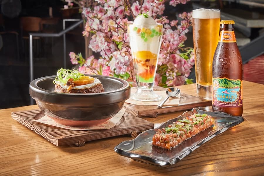 Special Menu Items from Morimoto at Disney Springs for the month of May