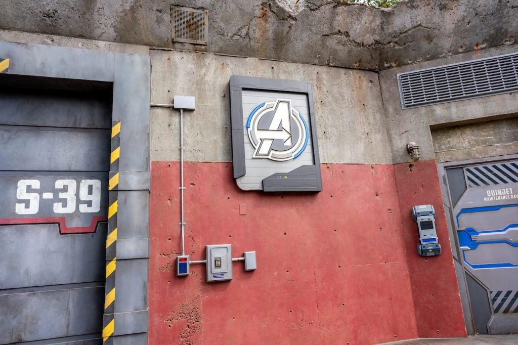 Avengers Headquarters at Disney California Adventure park