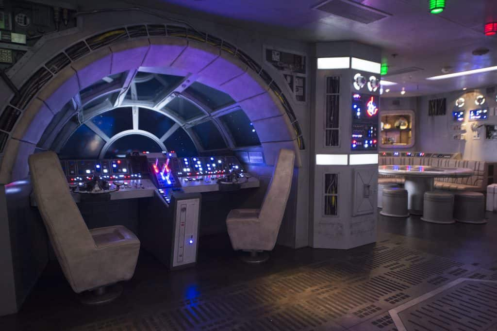 Pilot the Millenium Falcon inside Disney's Oceaneer Club with Disney Cruise Line