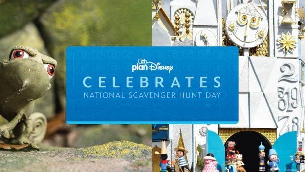 planDisney National Scavenger Hunt Day graphic