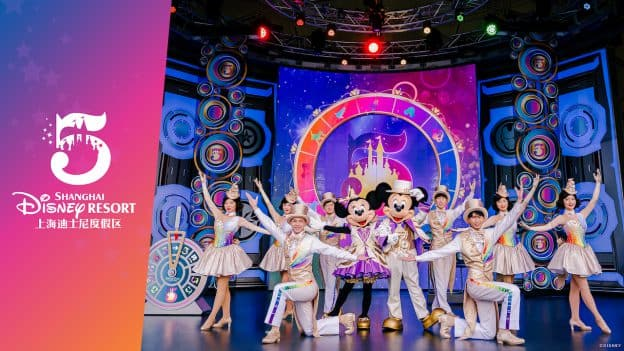 New Cast and Character Costumes for Shanghai Disney Resort's 5th Anniversary