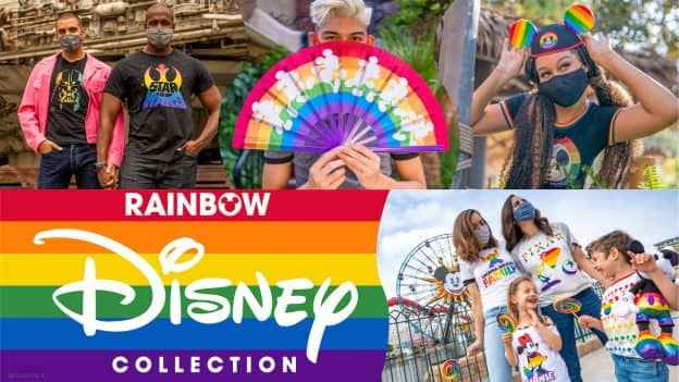 Disney Pride Products collage