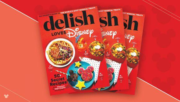 'Delish Loves Disney' book