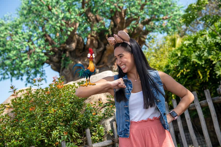 Photopass Magic Shot at Disney's Animal Kingdom