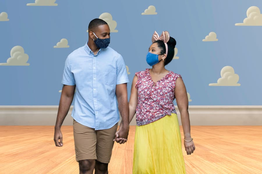 Photopass picture at Disney Springs