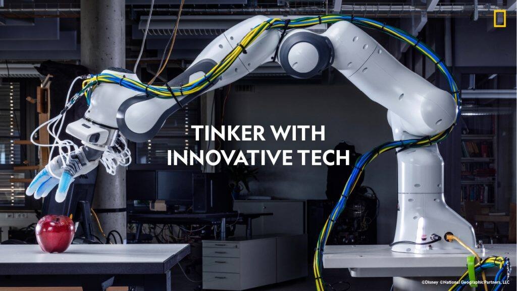 Tinker with innovative tech. Robot