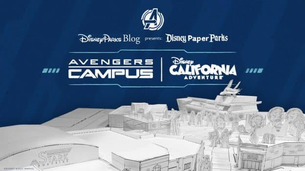 Disney Parks Blog Presents: Disney Paper Parks - Avengers Campus at Disney California Adventure park