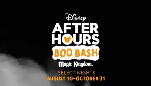 Disney After Hours Boo Bash - Magic Kingdom - Select Nights August 10-October 31