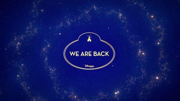 We Are Back - Disneyland Paris