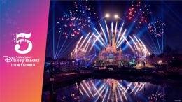 Graphic Celebrating the 5th anniversary of Shanghai Disneyland Resort