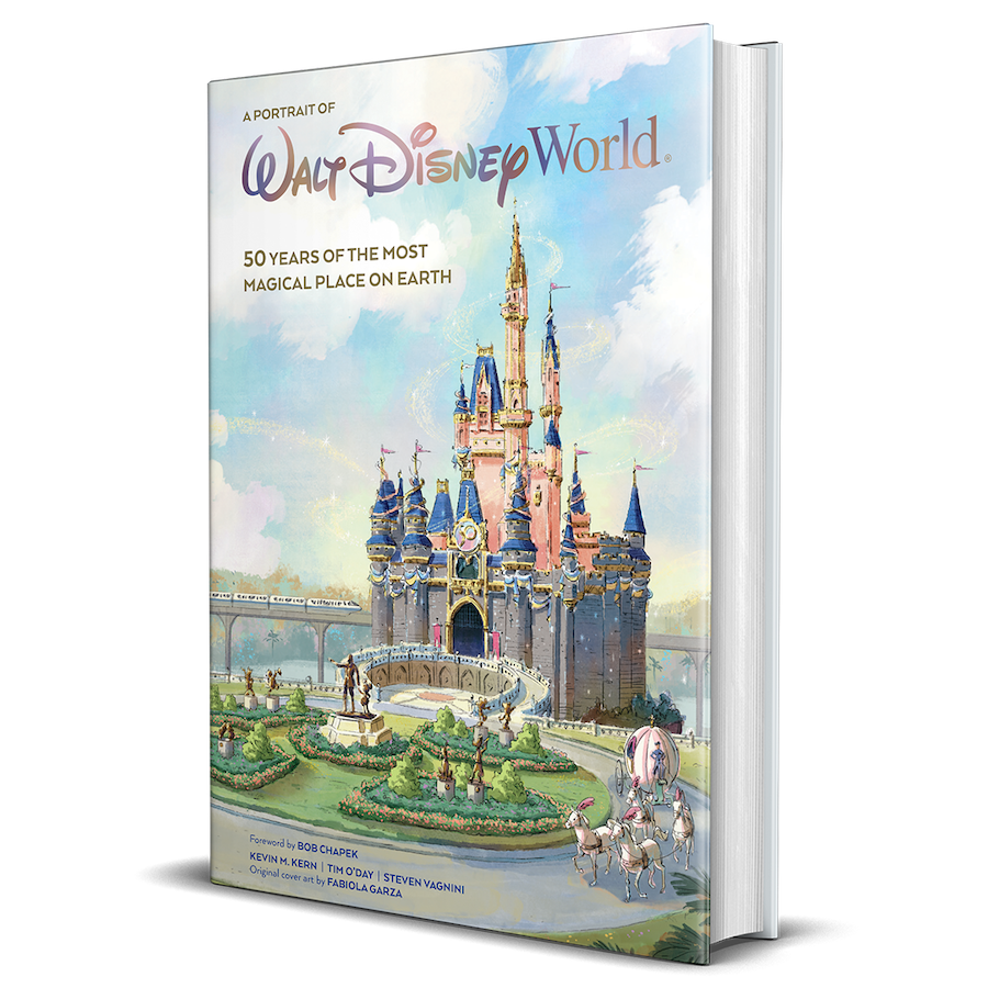 """""""Walt Disney World: A Portrait of the First Half Century,"""" a new coffee table book from Disney Editions"""