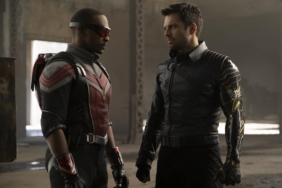 """Scene from """"The Falcon and the Winter Soldier"""" on Disney+"""