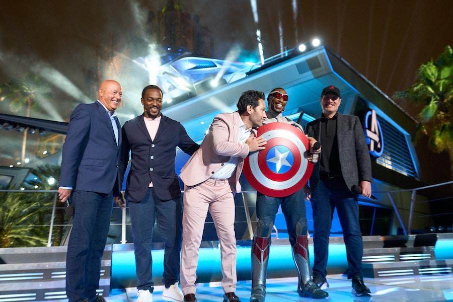 Avengers Campus: Tudo o que rolou na cerimônia de dedicação