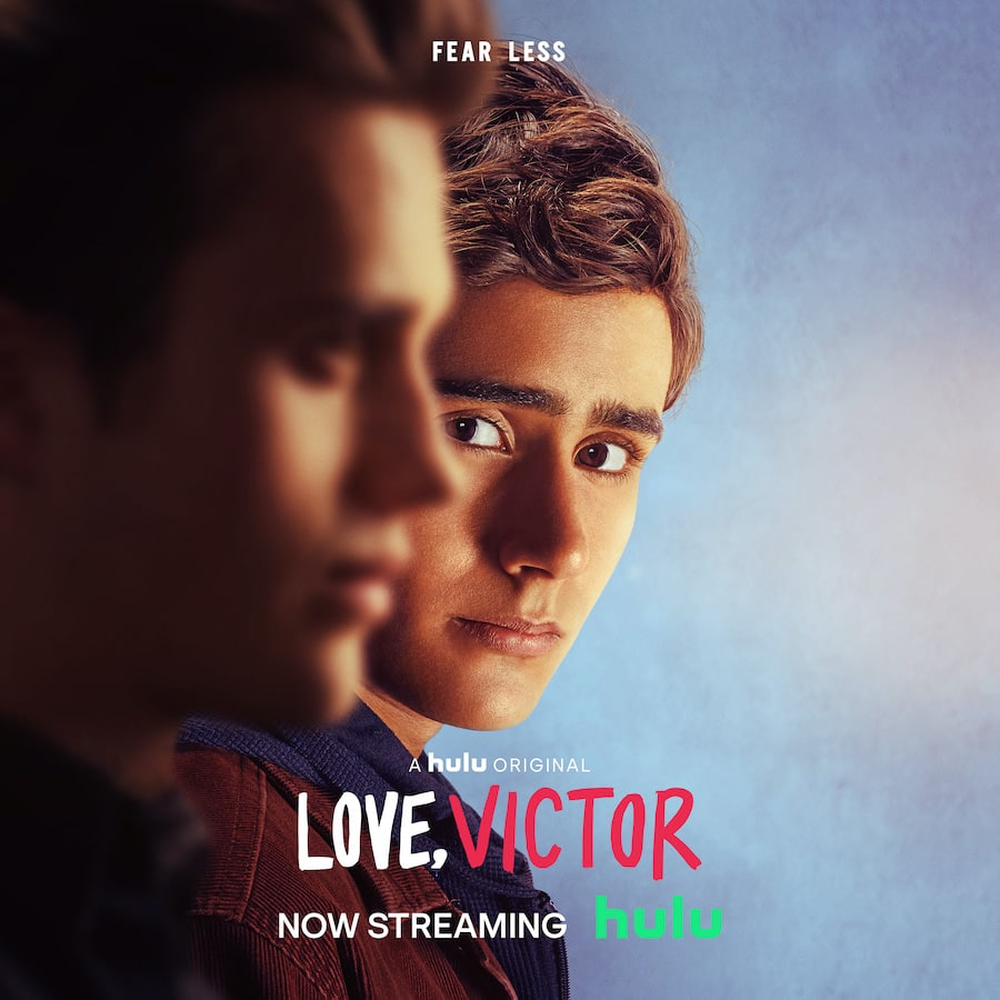Poster for 'Love, Victor' on Hulu