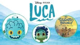 Collage of merchandise inspired by Disney and Pixar's 'Luca'