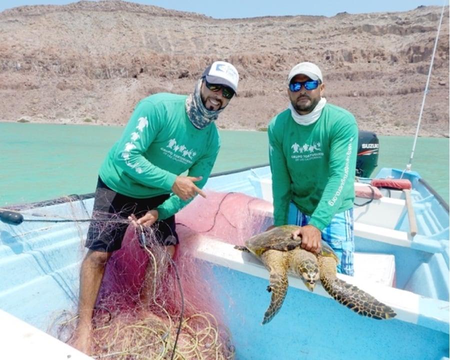 Baja fishermen Juan and Felipe Cuevas
