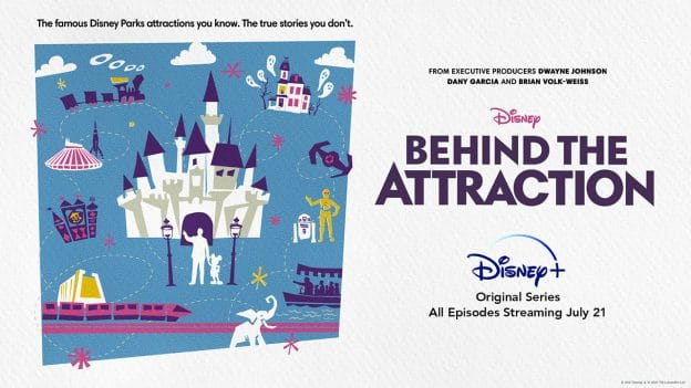 Go 'Behind the Attraction' in a New Original Series